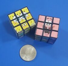 SpongeBob SquarePants Miniature Rubik's Style Puzzle Cubes - Set of 2