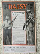 Daisy BB Gun,Air Rifle Advertising Poster,1914