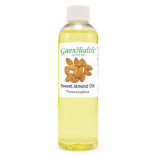 4 fl oz Sweet Almond Carrier Oil (100% Pure & Natural) - GreenHealth