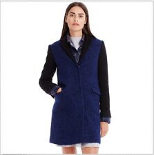 Armani Exchange A|X $348 Women's Wool Colorblock Coat - H5L454NG XXS 2XS