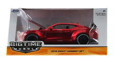 Bigtime Muscle Series: 2016 Chevy Camaro SS Wide Body GT Wing (Red) 1/24 Scale