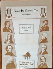 UNDER THE CHRISTMAS TREE by PAUL HILLER - PIANO SOLO SHEET MUSIC