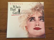MADONNA WHO'S THAT GIRL ORIG MOTION PICTURE SOUNDTRACK LP '87 POP 33RPM BMG NM