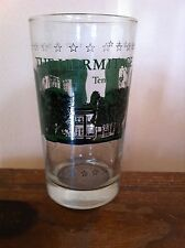 Vintage Hermitage Age Drinking Glass Nashville Tennessee Ceremonial Carriage old