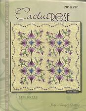 Cactus Rose 2013 Foundation Paper Piecing pattern by Judy Niemeyer