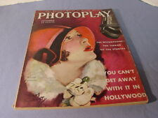 Vintage 1929 Photoplay Magazine Norma Talmadge Cover By Earl Christy
