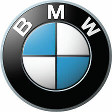 BMW Logos LARGE Vinyl Decal Glossy Stickers - 3 Pieces