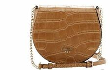 Guess Cate Petite Saddle Bag Crossbody Purse Butterscotch Brown NWT MSRP $60