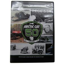 Arctic Cat 50 Years of Arctic Cat History Collector's DVD Video Movie - 5224-013