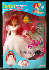 Ariel with Her Undersea Friends The Little Mermaid Tyco Disney Doll Rare