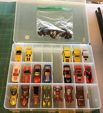 31 Loose Hot Wheels Vintage Cars in a Plano Jammer.