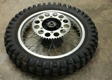 1983 XR500 R DID REAR WHEEL RIM & TIRE 17 X 2.15 HONDA XR 500 83-84 XR 350 600