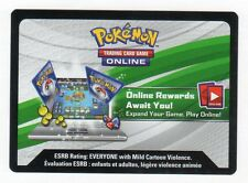Pokemon Card TCGO BATTLE RULER ZYGARDE + SKY GUARDIAN LUGIA ONLINE CODES EMAILED