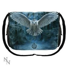 BAG MESSENGER OWL GUARDIANS PENTAGRAM ANNE STOKES SHOULDER NEW NEMESIS NOW BAG