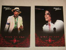 Michael Jackson - No 9 & 27 - 2 Panini Trading Cards 2011 *RARE* aus USA