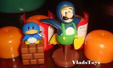 Furuta Choco Egg Super Mario Bros. Wii #2 Luigi Penguin & Penguin Suit US Dealer