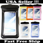Waterproof Dry Pouch Bag Protector Case Cover For Samsung S5 S4 S3 Note 3 2