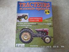 FASCICULE TRACTEURS ET MONDE AGRICOLE N° 38 URSUS C-325    G30
