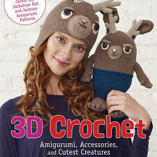 NEW 2 DVD SET: 3D CROCHET Amigurumi Accessories & Cutest Creatures Soft Toys