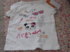 Panda new Academy Painting Rhinestones shirt girls 4 4t art gymboree school