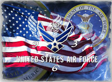US Air Force Wall clock  (Great For Your Man Cave )  Gr8 gifts