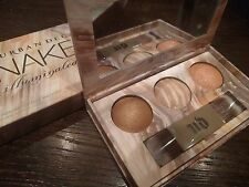 URBAN DECAY UD Naked Illuminated TRIO 3 Shimmering Powders + Brush NIB SOLD OUT