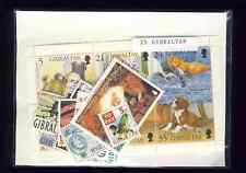 Gibraltar 25 timbres différents