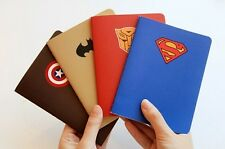 2pcs  Creative Stationery Hero Theme A6 Car Line Notepad Notebook