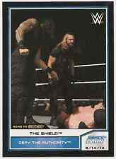 2014 Topps WWE Road to Wrestlemania #88 The Shield