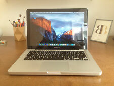 MACBOOK Pro 13 2,26 Ghz A1278 C2D 8GB RAM 128GB SSD / FLASH ( 2009) MB990D/A OVP