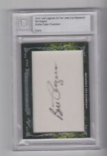 2014 Leaf Legends of the Links BILL ROGERS Auto Autograph #3/6