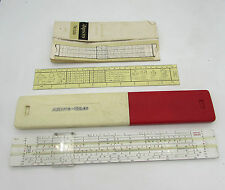 Aristo Trilog nr 0908 SLIDE RULE Calculator Dennert & Pape Germany + book + 1365