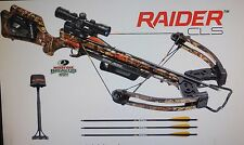 WICKED RIDGE RAIDER CLS CROSSBOW WITH ACUdraw 52,SCOPE, QUIVER,3 ARROWS & SLING