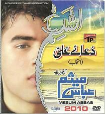 MESUM ABBAS / NOHAY - CARD BORED PACKING DVD - FREE UK POST