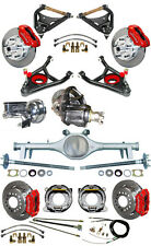 NEW SUSPENSION & WILWOOD BRAKE SET,CURRIE REAR END,CONTROL ARMS,POSI GEAR,646632