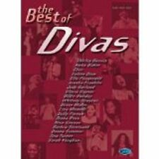 The Best Of Divas Piano Vocal Guitar Sheet Music Songbook Houston Simone S14