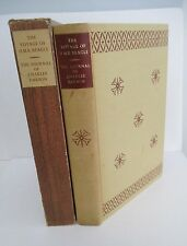 JOURNAL OF CHARLES DARWIN, THE VOYAGE OF H.M.S. BEAGLE, Limited Edtions Club