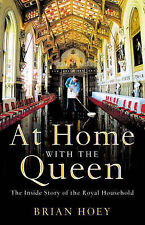 At Home With The Queen Hardback Book Brian Hoey
