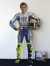 "Valentino Rossi Display Stand Up Standee FIGURE Yamaha 46 Moto GP 24"" NEW RARE"