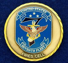 US Navy 7th Fleet Tomahawk Missile Challenge Coin KC-19
