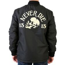 Lucky 13 Jacket REVERSIBLE Limited Driving Death Chain Stitch Chenille 2XL