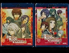 Hiiro no Kakera: Tamayori Princess Saga Complete Season 1 & 2(New 4-Disc Blu-ray