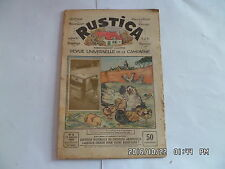 RUSTICA N°2 10/1/1932 COUVEUSE NATURELLE OU ARTIFICIELLE LE GRAND CANYON     H6