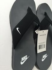 NWT MENS NIKE CELSO THONG PLUS FLIP FLOP SANDALS SZ 15 Black 307812 020