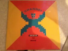 "Channel X - groove to move - excellent condition 12"" vinyl"