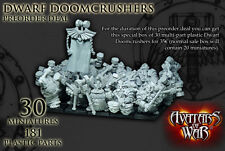Avatars of War BNIB Dwarf Doomcrushers Special Edition AOWPL11