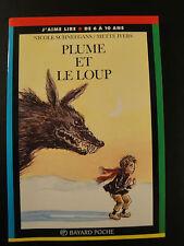 Livre enfant - Plume et Loup - 1996