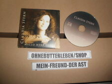 CD Schlager Claudia Stern - Hallo Herr Ober (1 Song) MCD TINA COLADA