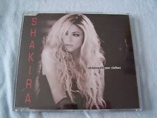 Underneath your clothes by Shakira CD Single 2002 Pop Vocal Epic