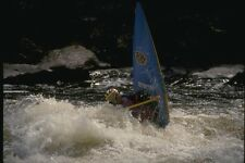 155003 Ender White Water Canoe Rouge River Quebec A4 Photo Print